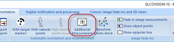 Ribbonbar Additional Measurement